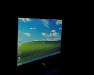Toshiba mini NB205  ъгъл на гледане