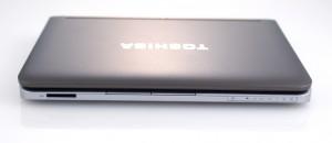 Toshiba mini NB205 изглед отгоре